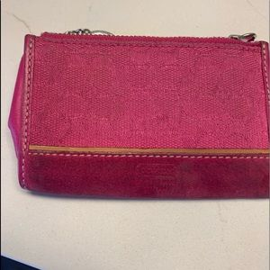 Coach coin purse/card holder